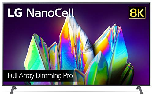 LG 75NANO999NA 189 cm (75 Zoll) NanoCell Fernseher (8K, Dual Triple Tuner (DVB-T2/T,-C,-S2/S), Dolby Vision, Dolby Atmos, Cinema HDR, 100 Hz, Smart TV) [Modelljahr 2020]