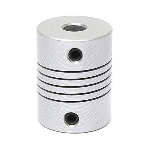 Y-Longhair De Aluminio Flexible Acoplamiento del Eje x L25mm OD19mm Pasos del CNC Motor Conectador del acoplador 10pcs 5 mm x 8 mm de Movimiento Lineal Productos