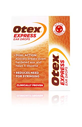 Otex Express Ear Drops for Hardened Ear Wax, 10ml