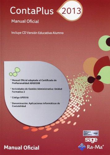 ContaPlus 2013. Manual Oficial