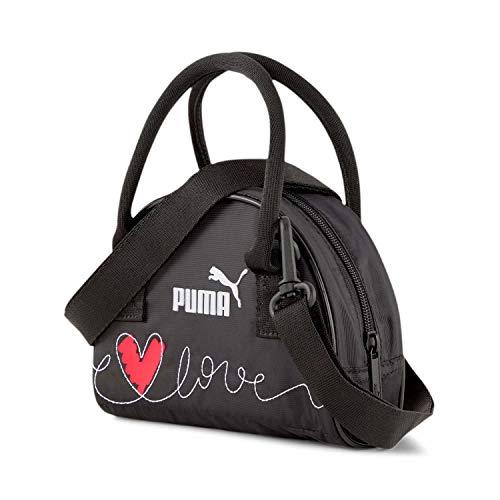 Puma Damen Handtasche Valentines Mini Grip Bag COR 078232 Puma Black One Size