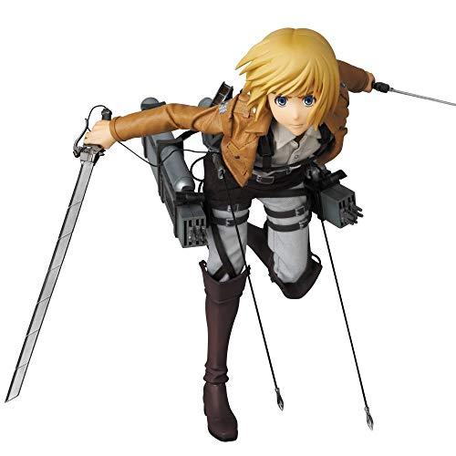 Un'importazione di Medicom Toy Dalla serie animata La figura misura quasi 30,5 cm di altezza Include armi dettagliate e fantasiose Espressioni facciali sostitutive