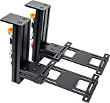 MEZA MOUNT-Table Mount Desk Mount Compatible with Logitech G X52/X52 Pro/X56/X56 Rhino/Thrustmaster T.16000M FCS/TCA Officer Pack Airbus