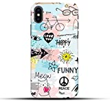 Pikkme Funky Funny Lifestyle Love Designer Printed Hard Back Case and Cover for Apple iPhone X/iPhone 10