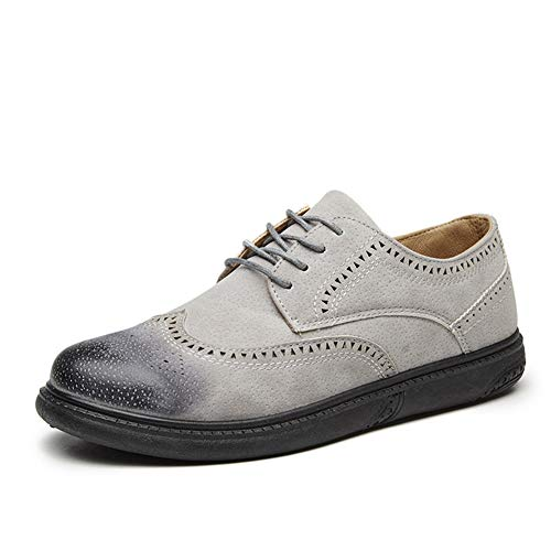 Qianliuk Männer Oxfords Lederschuhe Grundlegende Kleid Formale Brogue Schuhe Herrenmode Klassische Schuhe