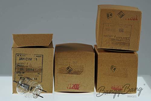 4 Vintage Eimac JAN CIM 15R - BangyBang Tubes
