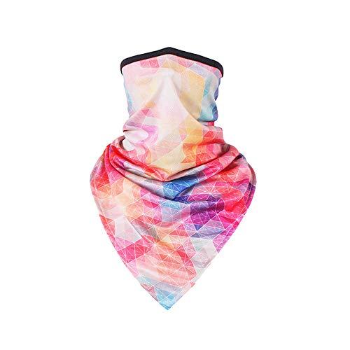 TClian Women UPF 50+ Face Mask Sun Protection Fashion Colorful Neck Gaiter Scarf