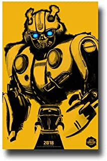 be6937129 Bumblebee Poster Movie Promo 11 x 17 inches 2018 Hailee Steinfeld Sketch  Yellow