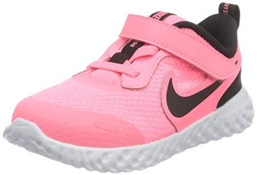 Nike Revolution 5 (TDV), Zapatillas Deportivas Unisex niños, Sunset Pulse Black White, 25 EU