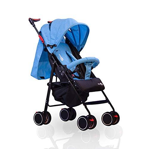 Porto  Silla de paseo ligera - Azul - Silla de paseo Porto Ataababy ligera, cómoda y con todas las prestaciones