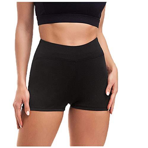 Pantalon Femmes Yoga Hanches Taille Haute Sport Yoga Shorts 1 Pack