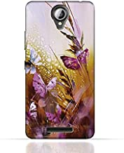 Lenovo A5000 TPU Silicone Case with Butterfly Oil Paint Pattern