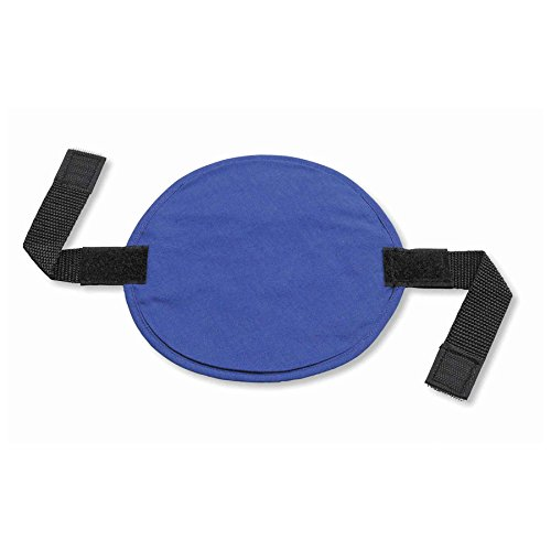 Ergodyne Chill-Its 6715 Evaporative Polymer Cooling Interior Hard Hat Pad, Solid Blue