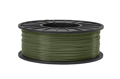 ABS 3D Filament 1.75mm Diameter -Olive Green -5lb