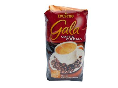 Eduscho Gala Caffè CREMA, ganze Bohne, 1000g Packung