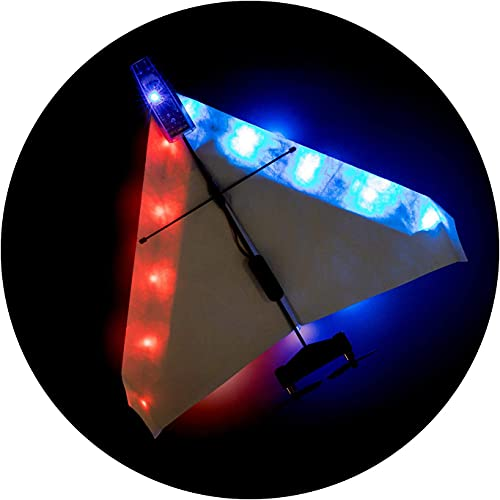 """Night Flight Kit for POWERUP 4.0 - 15.5"""" Blue & Red LED Light Set Designed to Fly Your POWERUP 4.0..."""