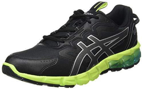 Asics Gel-Quantum 90, Running Shoe Homme, Black/Aizuri Blue, 43.5 EU