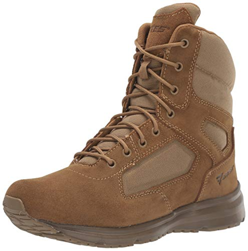 Bates Men's 8' Raide Hot Weather Fire And Safety Boot, Coyote, 12 Extra Wide US