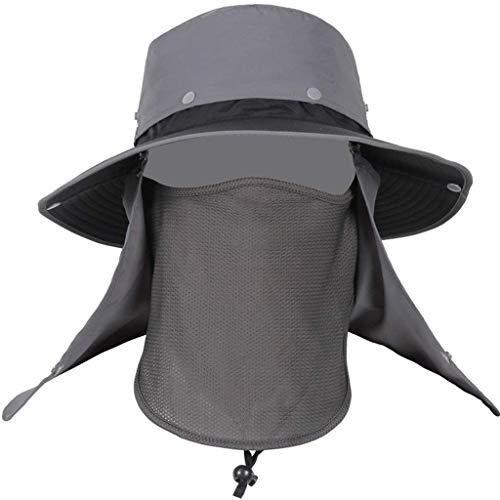 YWSZJ Protección UV Poco voluminoso Floppy Borde Ancho Manera de Las Mujeres de señora Cotton Summer Caps Informal Sombrero de Sol (Color : D)