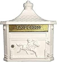 XJYDS Postbus Letter Boxes Wall Mounted Mailbox Wandmontage Community Postbox Letter Box Villa Europese Brief Box Creatiev...