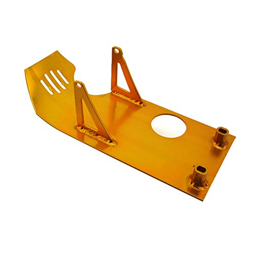TC-Motor Gold Aluminum Engine Skid Plate For XR50 CRF50 Dirt Pit Bike 50cc 70cc 90cc 110cc 125cc 140cc Lifan YX SSR Thumpstar Coolster Taotao