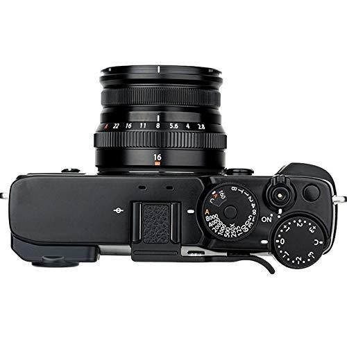 JJC Empuñadura de metal para cámara Fujifilm Fuji X-Pro3, X-Pro2, X-Pro1, XPro3, XPro2, XPro1, XPro2, XPro1, agarre para pulgares, mejor equilibrio y agarre