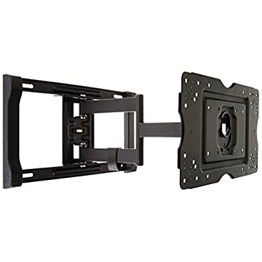 AmazonBasics Heavy-Duty, Full Motion Articulating TV Wall Mount for 32-inch to 80-inch LED, LCD, Flat Screen TVs