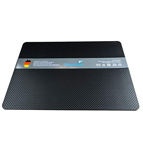 skandika Bodenschutzmatte für Vibrationsplatten | Made in Germany | rutschfest, geruchsfrei | Antivibrationsmatte Bodenmatte für Fitnessgeräte | 60x80 cm, 8 mm Dicke