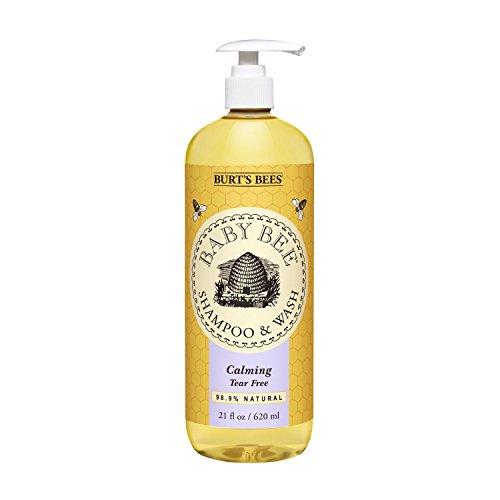 Burt's Bees Baby Bee Shampoo and Wash, Calming, 21 Fluid Ounces