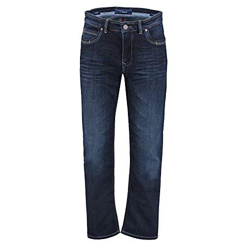 Atelier GARDEUR Herren Batu Jeans, Dark Stone 68, 33W / 34L