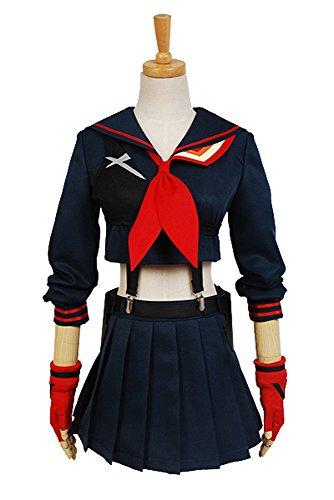 Kill la Kill Ryuko Matoi Cosplay Kostüm Damen XS