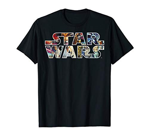 Star Wars Classic Movie Poster Logo Graphic T-Shirt