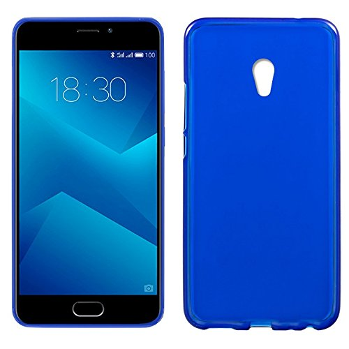 iGlobalmarket Meizu M5 Note, Funda Silicona, Suave, Ultrafina, Ajuste, Color Azul