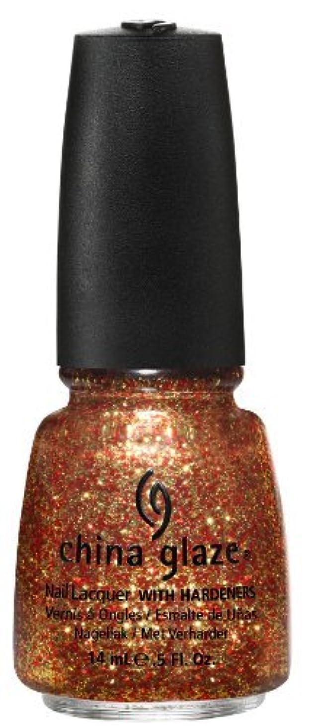 拍手するリビジョン損失China Glaze Nail Lacquer, Electrify, 0.5 Fluid Ounce by China Glaze [並行輸入品]