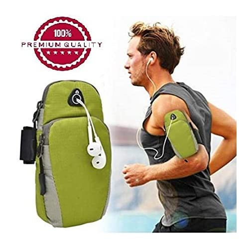 Kingbell Waterproof Sports Armband Cover for Running, Jogging and Gym Till 5.7-inch for Android/iOS