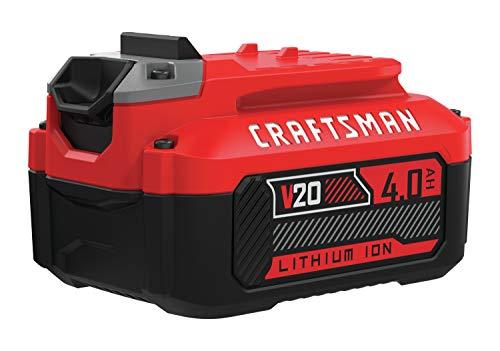 CRAFTSMAN V20 Lithium Ion Battery, 4.0-Amp Hour (CMCB204)