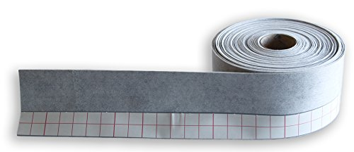 20m Wannendichtband, Fugenband mit einem 3cm selbstklebenden Streifen