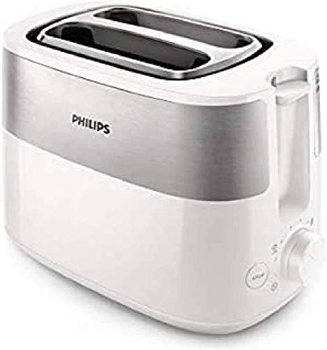 Philips Daily Collection HD2516/00 Toaster, 2 Scheiben, Kunststoff, drehbar, China, 830 W