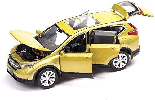 Zixin Tire Caja del Coche Modelo de simulación de la Familia Volver Coche SUV niños juegan vehículo Juguetes colección de la decoración, 14.565CM (Color: Amarillo) (Color: Negro) (Color : Yellow )