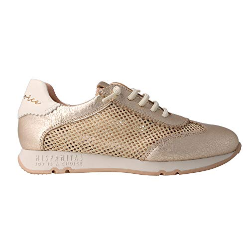 Hispanitas Sneaker Low Hv09973 Kioto Gold Damen - 39 EU
