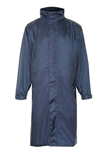Champion Storm Waterproof & Breatchable Long Jacket - Colour: Navy, Size: M