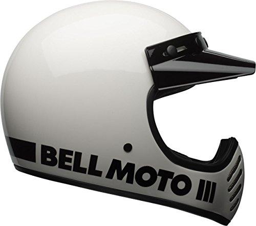 Bell Moto-3 Classic White XS White