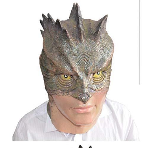 Lattice Horror Maschera Halloween Spaventoso Lizard Lady Costume Maschera Costume di Scena