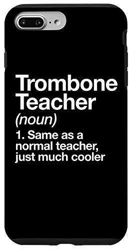 iPhone 7 Plus/8 Plus Trombone Teacher Definition Funny Musician Case