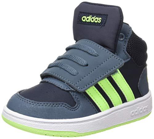adidas Hoops Mid 2.0 I, Zapatillas, Tinley/VERSEN/AZULEG, 25 EU