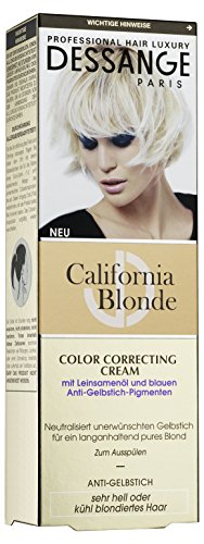 Dessange California Blonde Color Correcting Cream, 125 ml