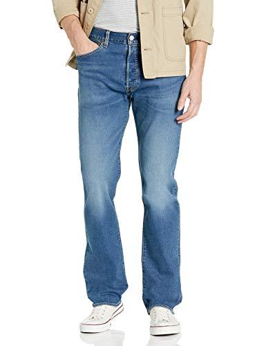 Levi's Herren 501 Original Fit Jeans, Largo Nightshine-Stretch, 40W / 32L