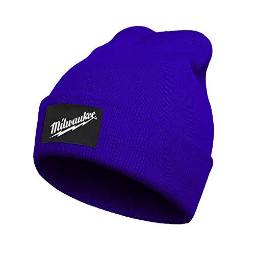 Warm Winter Hat Milwaukee-Tool-sawzall-Blades-Knit Beanie Skull Cap Cuff Beanie Hat Winter Hats for Men Women