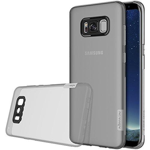 Nillkin Nature - Custodia TPU posteriore di protezione e antiscivolo per Samsung Galaxy S8 - Gris