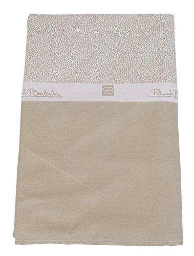 Renato Balestra TELO mare in microfibra asciugamano copri lettino Borbonese beige